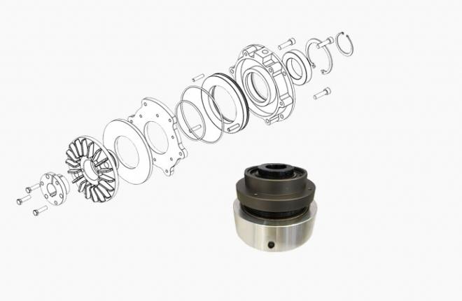 CTHP齿轮型空压通轴离合器